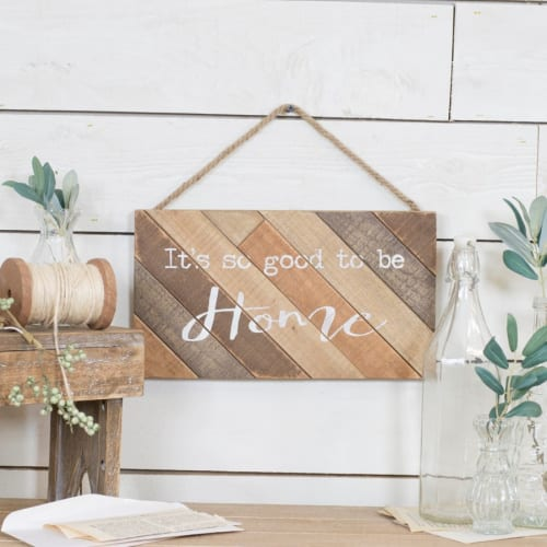 Wood Sign – It's so good to be Home - available for sale at My Little Shop Furniture gift shop near me Gilbert AZ